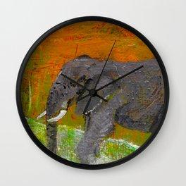 A Quick Dip Wall Clock