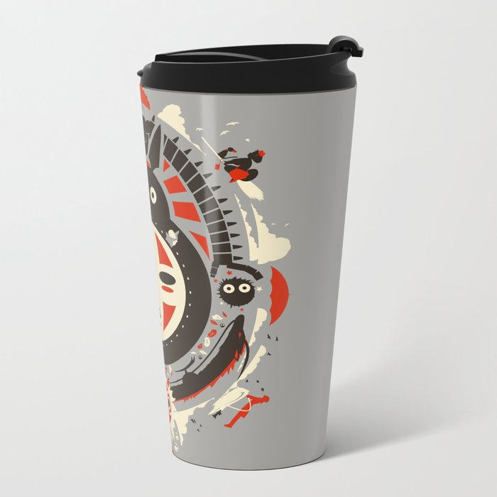 A New Wind Metal Travel Mug