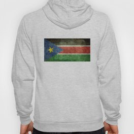Republic of South Sudan national flag - Vintage version Hoody