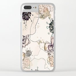 Pollination in Pastel Clear iPhone Case