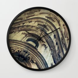 Le Place d'Armes Wall Clock