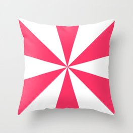 Circus Roof Throw Pillow