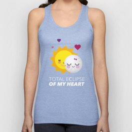 Total eclipse of my heart Unisex Tank Top