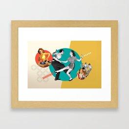 Tempi moderni / Modern times Framed Art Print