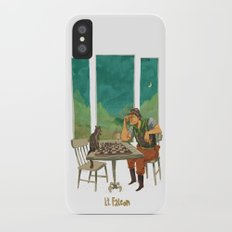 Lt. Falcon iPhone X Slim Case