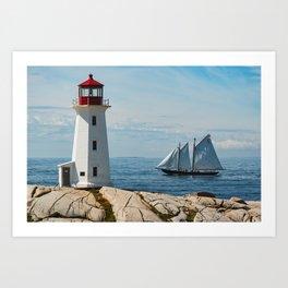 Nova Scotian Icons Art Print