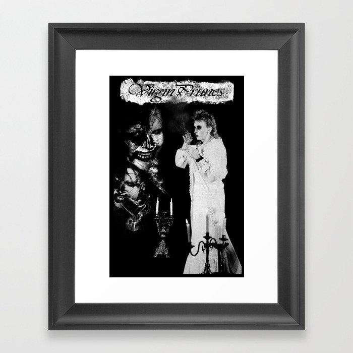 Virgin Prunes Poster Gerahmter Kunstdruck