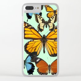Mariposas- Butterflies Clear iPhone Case