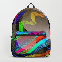 Rainbow Wave Backpack