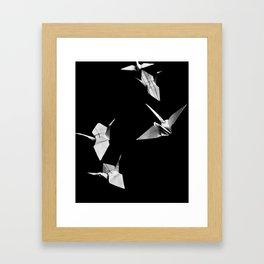Senbazuru Framed Art Print