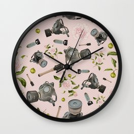 Don't stop to smell the roses Wall Clock