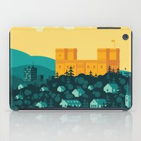 golden iPad Cases featuring Golden castle by Roland Banrevi
