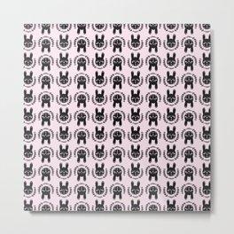 Scandinavian rabbit Metal Print
