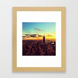 Top of the Rock I Framed Art Print