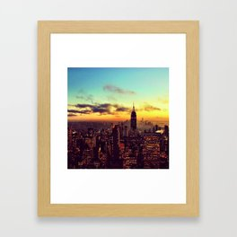 Top of the Rock I Framed Art Print