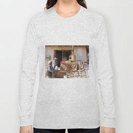 Afghan Tea Shop Long Sleeve T-shirt