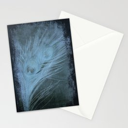 Peacock Abstract Stationery Cards