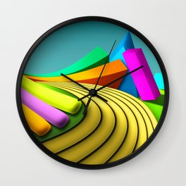 Toys Wall Clock