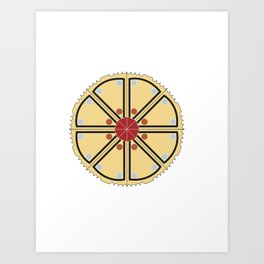 Mandala Project Seven Art Print