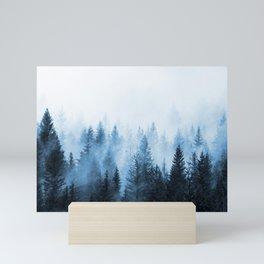 Misty Winter Forest Mini Art Print