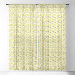 Link cartoon interpretation Sheer Curtain