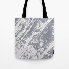 shades of gray marble effect Tote Bag