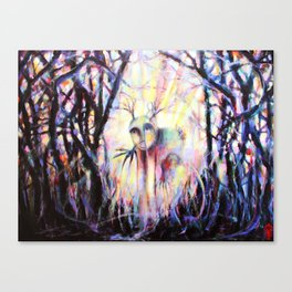 'Land Wight Encounters III - First Approach' Canvas Print