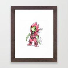 The Deadliest Ninja Warrior Framed Art Print