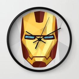 IronMan Fracture Wall Clock