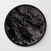gravity Wall Clocks featuring Gravity by nicebleed