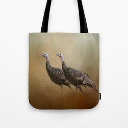 Wild Turkey At Shiloh Tote Bag