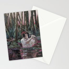 The Man Who Wasnt There Stationery Cards