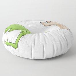 Crazy night Floor Pillow