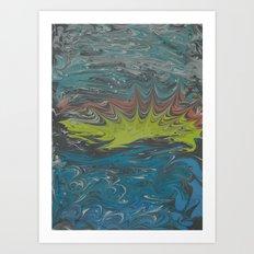 Marble Print #29 Art Print