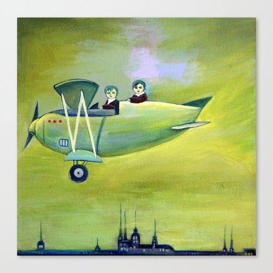 The Flight Canvas Print