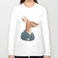kangaroo Long Sleeve T-shirts featuring Kangaroo by Animal Crew