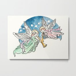 Angelic Hymn Metal Print