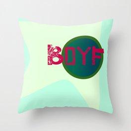Boyf Throw Pillow