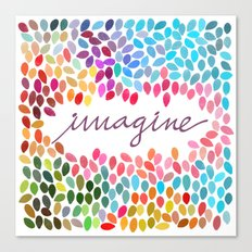 Imagine [Collaboration with Garima Dhawan] Canvas Print