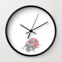 Ladybug 2.0 by Lars Furtwaengler | Digital Interpretation | 2013 Wall Clock