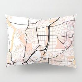 Johannesburg South Africa Street Map Pillow Sham