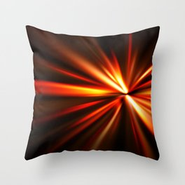 explosion of a star Throw Pillow