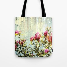 OPPOSITE LOVE - Rusted Magnolia Tree - (decrepit beauty) Tote Bag