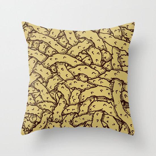 Branches (alternate version) Throw Pillow