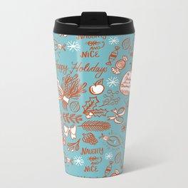 Holly-Day Grab Bag Metal Travel Mug