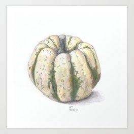 Sweet Dumpling Squash Art Print