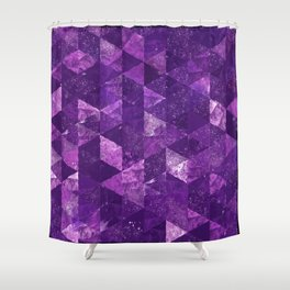 Abstract Geometric Background #35 Shower Curtain