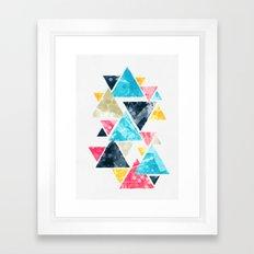 Triscape Framed Art Print