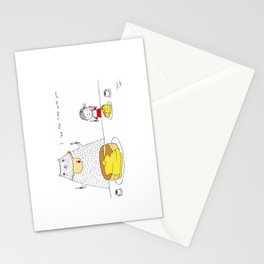 I love the time with you Stationery Cards