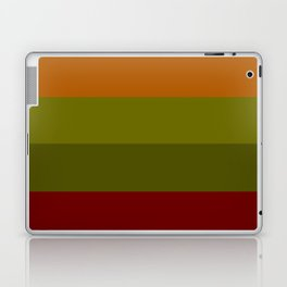 Cool Autumn Leaves - Color Therapy Laptop & iPad Skin